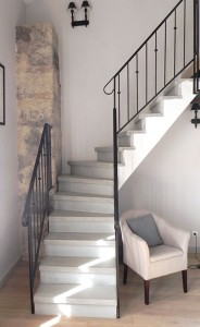 fabrication et pose d 39 escalier en b ton et en bois carcassonne 150km. Black Bedroom Furniture Sets. Home Design Ideas