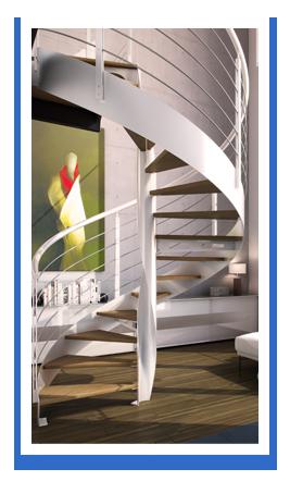 escalier metal 4