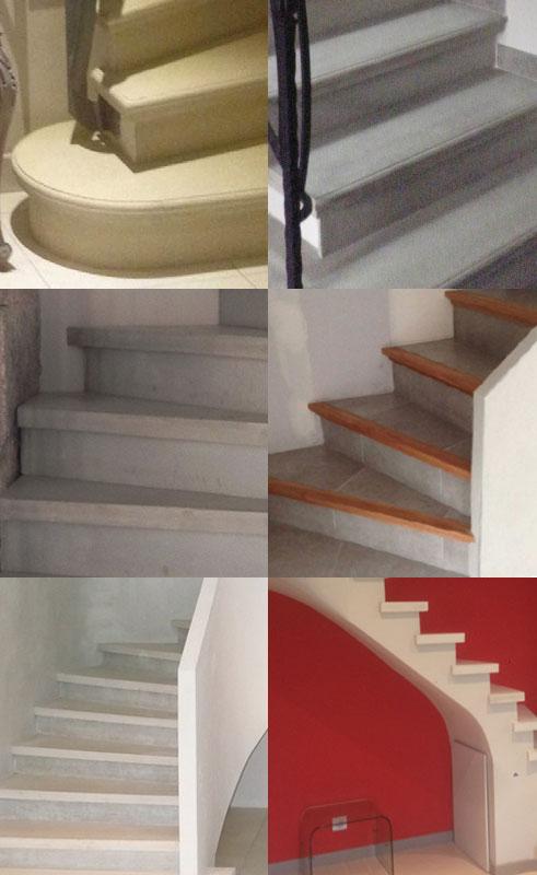 Finitions pour escalier