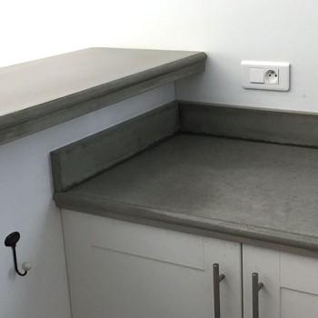 fabrication plan travail cuisine beton 3